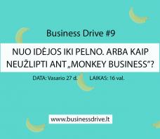 """Nuo idėjos iki pelno. Arba kaip neužlipti ant """"Monkey Business"""""""