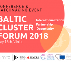 Baltijos klasterių forumas 2018