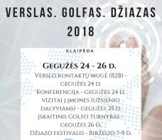 Business. Golf. Jazz 2018