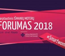 Tarptautinis Išmanių moterų Forumas 2018