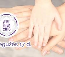 """Konferencija """"Versli šeima 2018"""""""