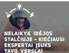 """Konkursas """"Ieškomas inovatorius"""" laukia idėjų iki balandžio 2 d."""