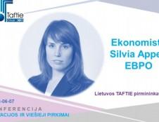 Vilniuje ekonomistė iš EBPO pasidalins įžvalgomis apie mokslinių tyrimų ir inovacijų veiklą
