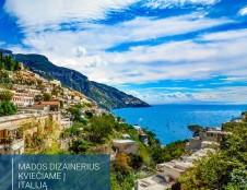 Jauniesiems mados dizaineriams ir kūrėjams – puikios galimybės prisistatyti Italijoje!