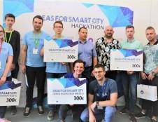 4 komandų idėjos triumfavo išmaniojo miesto hackaton'e