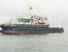 """Klaipėdiečių tyrimų laivas """"Mintis"""" uoste neužsibūna"""