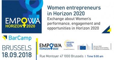 """Moterų verslininkių kontaktų renginys """"BarCamp"""""""