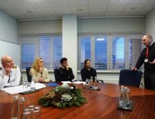 Investuotojai domisi vaivorykštinių upėtakių auginimo galimybėmis Klaipėdoje