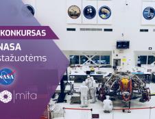 MITA skelbia stažuočių konkursą į NASA