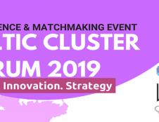 Į Baltijos klasterių forumą 2019 renkasi ekspertai iš visos Europos