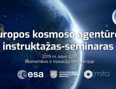 Europos kosmoso agentūros 2 mln. eurų konkursas verslo-mokslo projektams