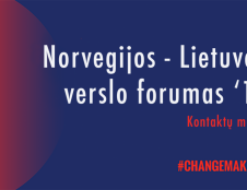 """5-ajame """"Norvegijos-Lietuvos verslo forume ir kontaktų mugėje"""" – tvari ekonomika ir ekologiški sprendimai"""