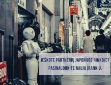 Patogus įrankis partneriams Japonijoje susirasti
