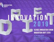 """Vilniaus inovacijų forumas """"Innovation Drift 2019"""": ko nepraleisti?"""