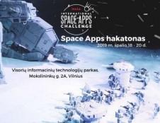"""Tarptautinis NASA hakatonas """"Space Apps Challenge"""" pirmą kartą Vilniuje!"""