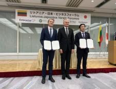 Lietuvos verslo forumas Japonijoje: aktyvus susidomėjimas dvišale ekonomine partneryste