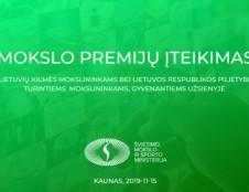 Lapkričio 15 d. bus teikiamos mokslo premijos užsienio lietuviams