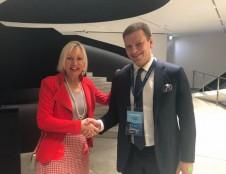 Tęsiamas bendradarbiavimas su Vokietija – aptarti skaitmenizacijos projektai
