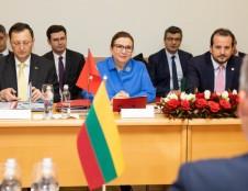 Lietuva ir Turkija aptarė ekonominį bendradarbiavimą