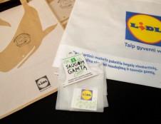 Vietoj vienkartinio plastikinio pirkinių maišelio – daugkartinis