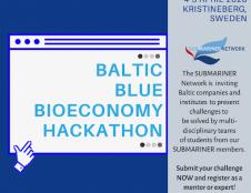 Renkama komanda, vyksiantį į Baltijos šalių mėlynosios bioekonomikos hakatoną!