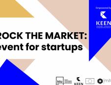 """Pirmus žingsnius žengiantys startuoliai kviečiami į virtualius """"Rock the Market"""" mokymus"""