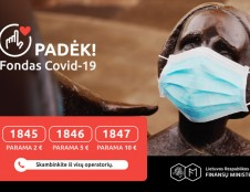 COVID-19 fondas: naujas pirkinys ir dėmesys nevyriausybinėms organizacijoms