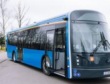 """Elektrinis autobusas """"Dancer"""" – verslo ir mokslo bendradarbiavimo rezultatas"""
