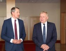 Darbą pradėjo naujasis ekonomikos ir inovacijų ministras R. Sinkevičius