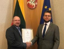 INVEGA sulaukė padėkos už pagalbą Lietuvai kovojant su Covid–19 virusu