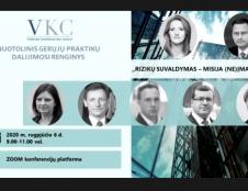 Valstybės valdomos įmonės (VVĮ) dalinasi rizikų valdymo pamokomis