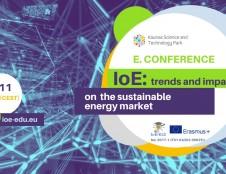 """Kauno MTP kviečia dalyvauti nuotolinėje konferencijoje """"IoE: trends and impact on the sustainable energy market"""""""