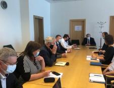 Ekonomikos ir inovacijų ministerijoje su socialiniais partneriais aptartos aktualijos ir nusibrėžtos artimiausių darbų kryptys