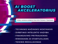 Naujus metus pradėkite su naujomis jėgomis - AI BOOST akceleratorius laukia dirbtinio intelekto kūrėjų!