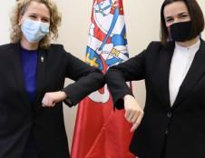 Lietuvos interesas – laisva ir klestinti Baltarusija