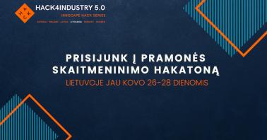 """Hakatonas """"Hack4Industry 5.0"""""""