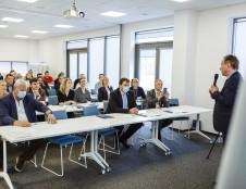 """""""Inoship"""" vadovas A.Uldukis apie unikalią KU programą: """"Čia kuriasi jūrinio verslo inkubatorius"""""""