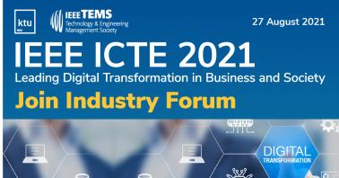 """Konferencija """"Skaitmeninė transformacija versle ir visuomenėje"""""""