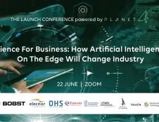 """Kviečiame startuolių bendruomenę į DI konferenciją """"Science for Business: How AI on the Edge will Change Industry"""""""