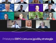 Pristatyta EBPO Lietuvos įgūdžių strategija