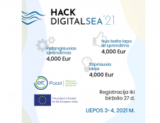 Skaitmeninės jūros hakatonas – pirmasis toks Lietuvoje