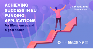 """Renginys """"Achieving Success in EU Funding Applications for Life Sciences & Digital Health"""""""