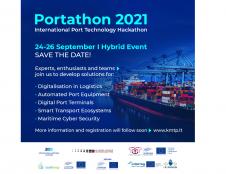 """Rugsėjį - 3-asis uosto technologijų hakatonas """"Portathon""""!"""