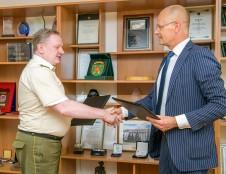 STRATA bendradarbiaus su Lietuvos karo akademija