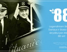 """Minint """"Lituanicos"""" tragedijos metines, Lenkijos mieste Myslibuže atidaroma Stepono Dariaus ir Stasio Girėno vardu pavadinta sankryža"""