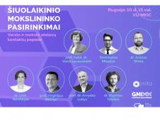 MITA tinklaveikos renginyje – mokslininkų diskusija apie karjeros kryžkelę ir savirealizacijos kelius