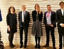 Vėjo jėgainių parko projektas Baltijos jūroje pristatytas potencialiems investuotojams