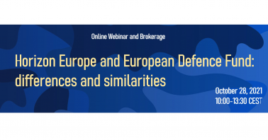 Horizon Europe and European Defence Fund: differences and similarities